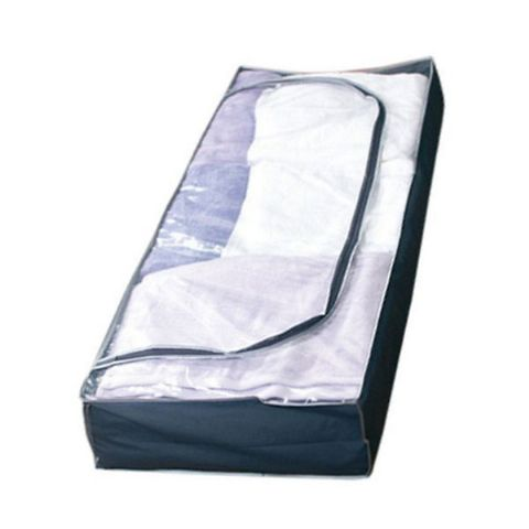 TuffStor Clear Top Blue Underbed Clothes & Duvet Storage Bags